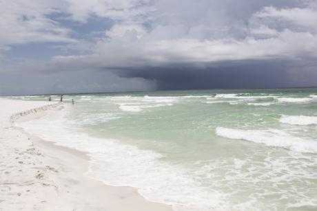 pensacola beach-storm