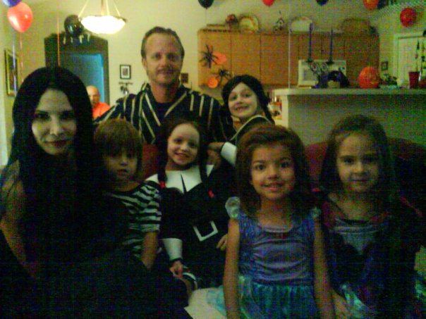 Addams Family & friends